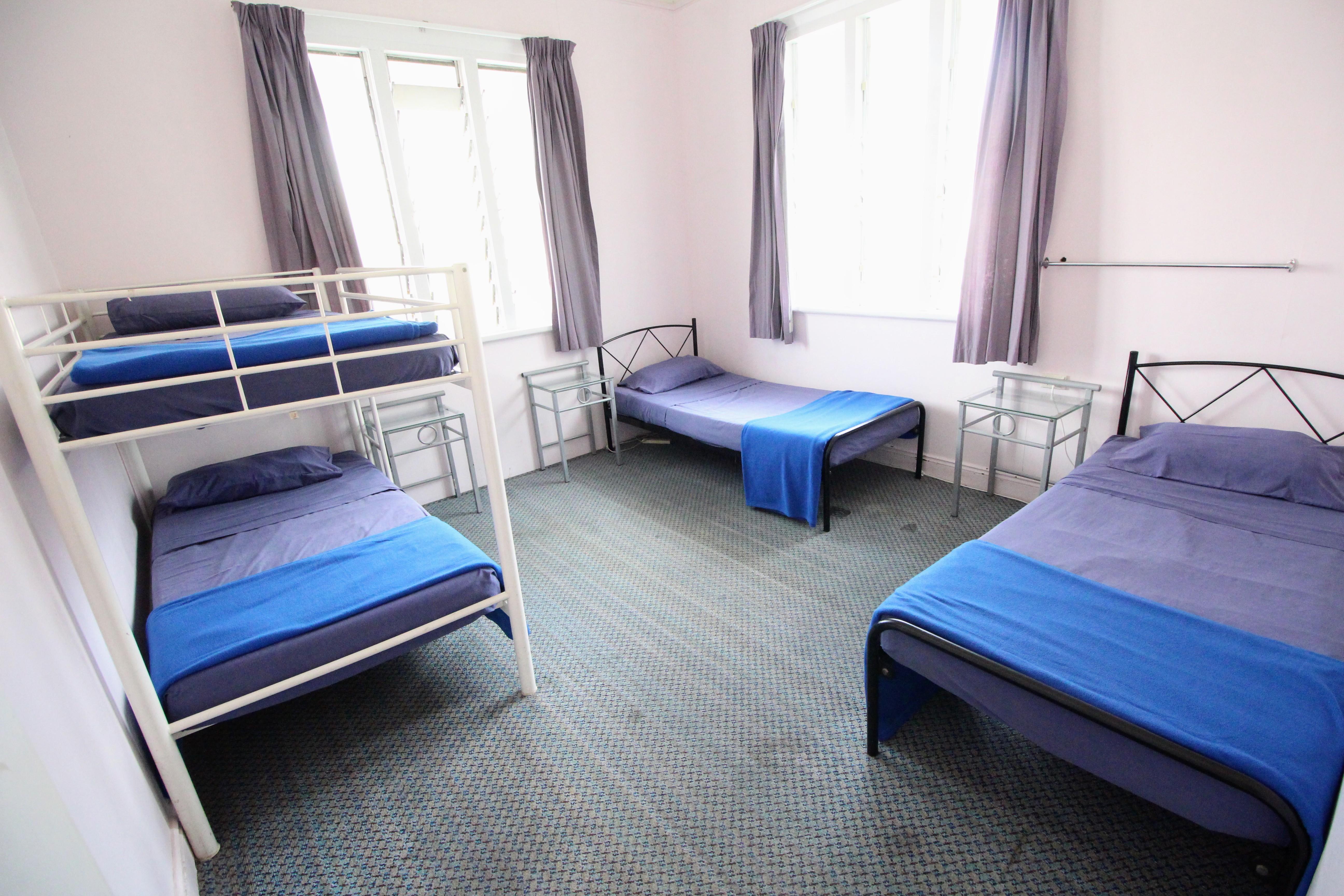 Cairns Girls Hostel Dorm Room