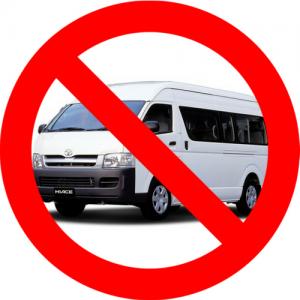 no shuttle